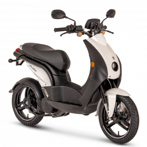 Electric Scooter, Green Eco Scooter, Eco moped, Electric delivery moped
